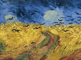 Van Gogh Crows in Wheatfield