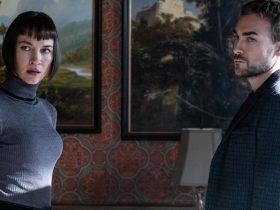 Tom Austen & Sydney Lemmon in Helstrom Season 1