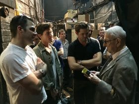 The Boys In The Band with Zachary Quinto, Matt Bomer and Andrew Rannells