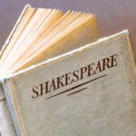 A white Shakespeare book