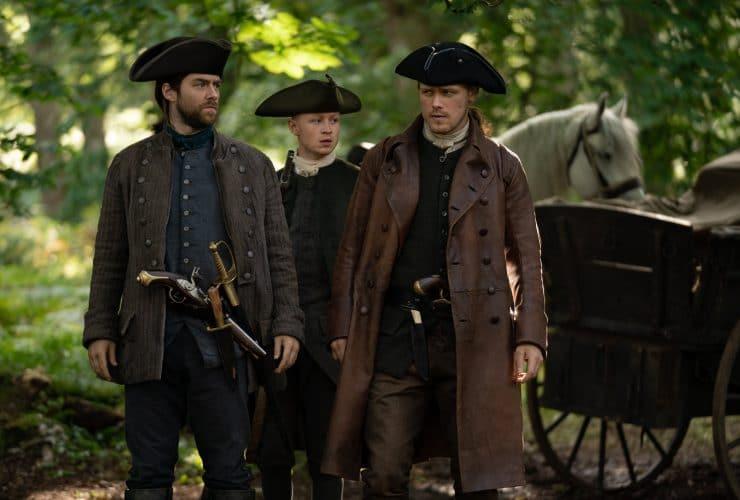 Outlander Resumes Filming