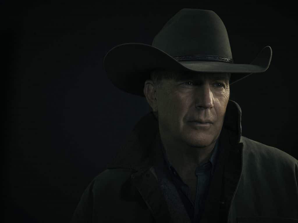Kevin Costner as John Dutton in Yellowstone Season 4