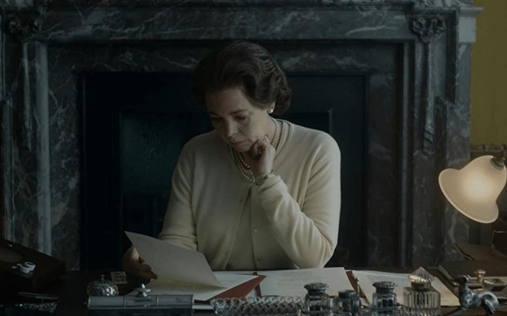 Olivia Coleman in The Crown Bubbikins (Season 3, Episode 4)