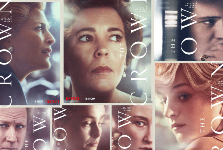 The Crown Character Posters