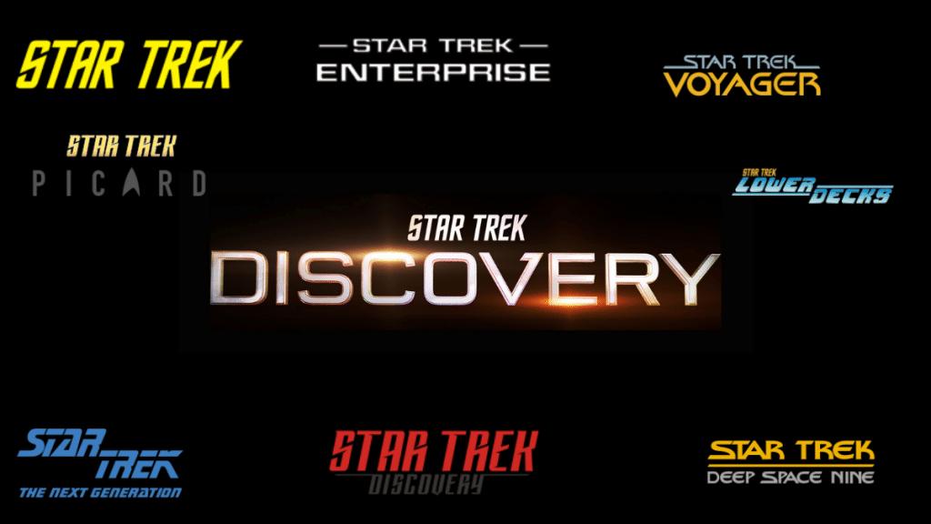 Star Trek Logos Timeline