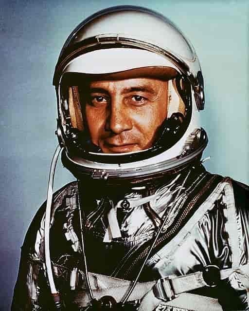 standard compressed Astronaut Virgil I. Gus Grissom