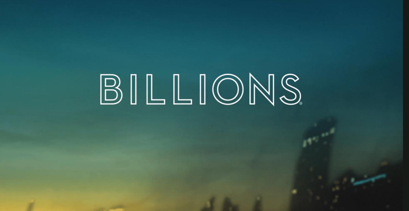 Billions Header