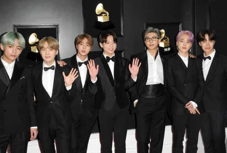 BTS At 61st Grammy Awards